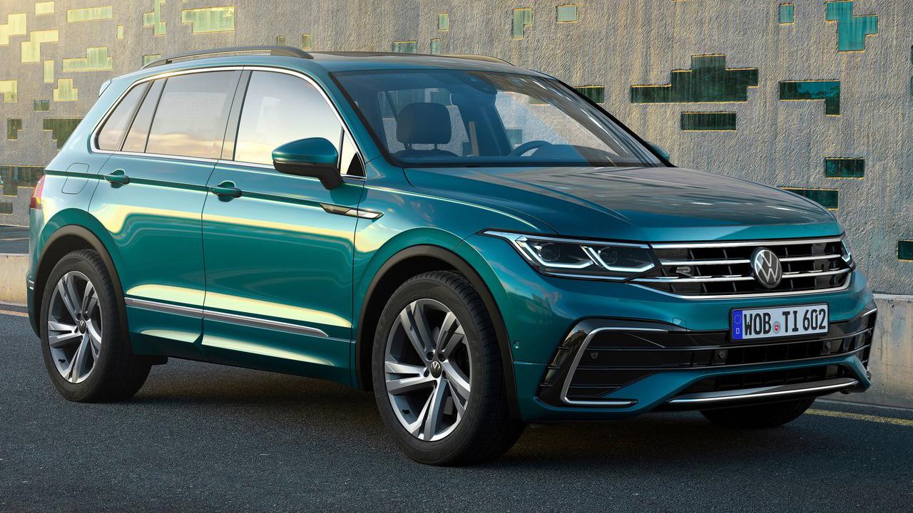 The New Volkswagen Tiguan 2021 Europe S Best Selling Suv Updated Motors Actu